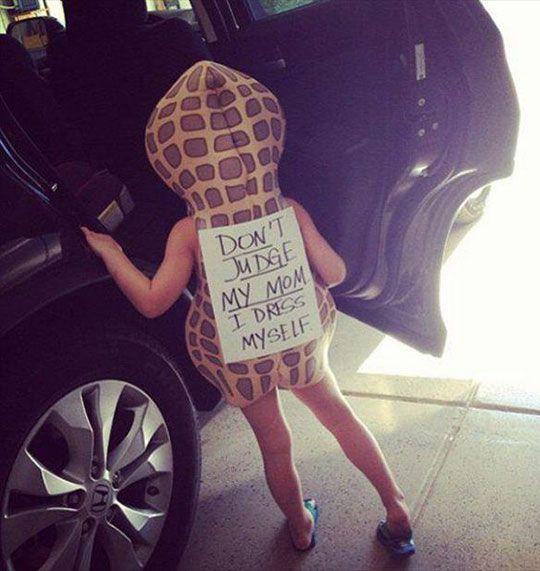 This kid is a nut! :D (Yep, I laughed at that as I wrote it. I'm lame.)