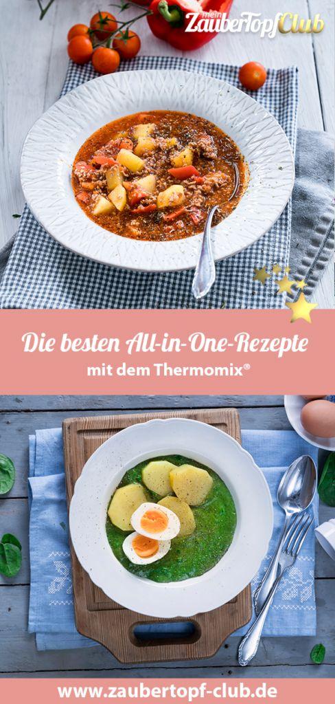 All in one – die 10 besten Rezepte für den Thermomix®