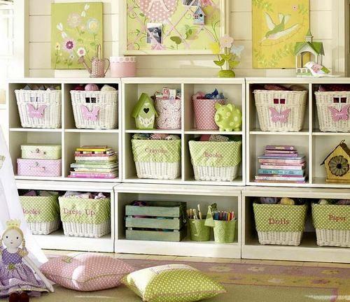 Стелажи деревянные для детской комнаты