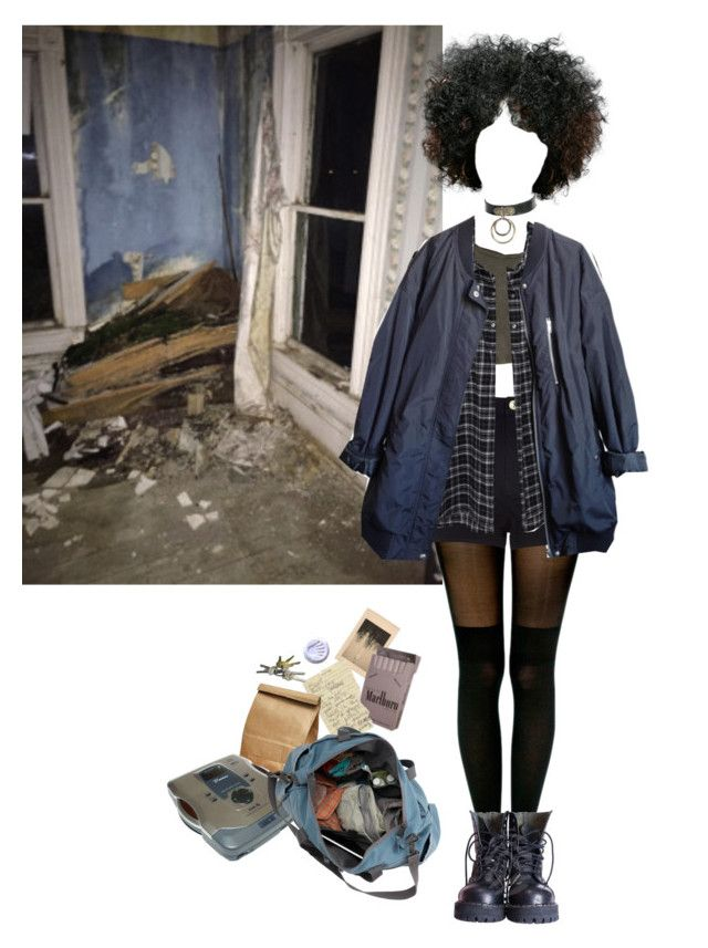 """""""wanna find peace of mind"""" by in-gloom ❤ liked on Polyvore featuring Pretty Polly, Crafted, 6397 and Urban Outfitters"""
