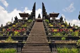 Besakih Temple Besakih temple is the largest temple in Bali temple is all Hindus worship at this temple<3