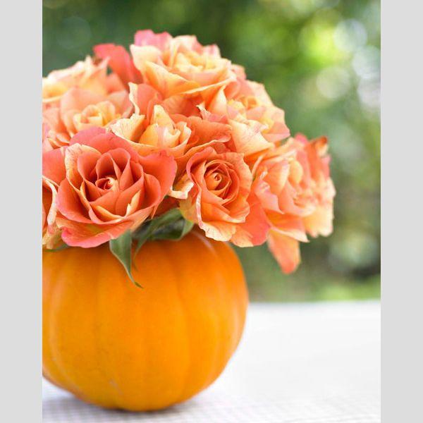 Ideias para a decoraração de um casamento de outono. #casamento #decoração #mesas #flores #outono #abóbora