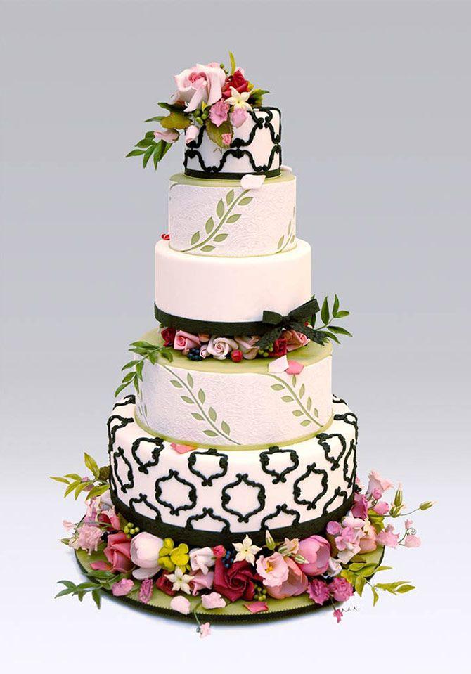 Das dutch haus wedding cakes