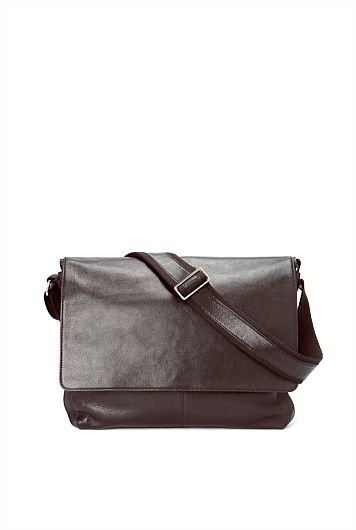 Country Road Leather Messenger $249