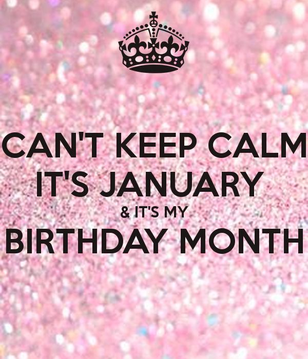 Not that anyone care but its almost my birthday (8 jan)