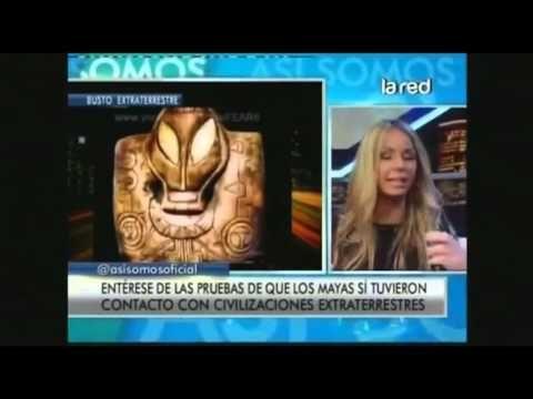 Salfate revela que los Mayas si tuvieron contacto con extraterrestres (p...
