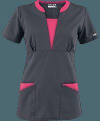 Delantales médicos a la moda en colores sólidos, uniformes médicos y más en Uniform Advantage