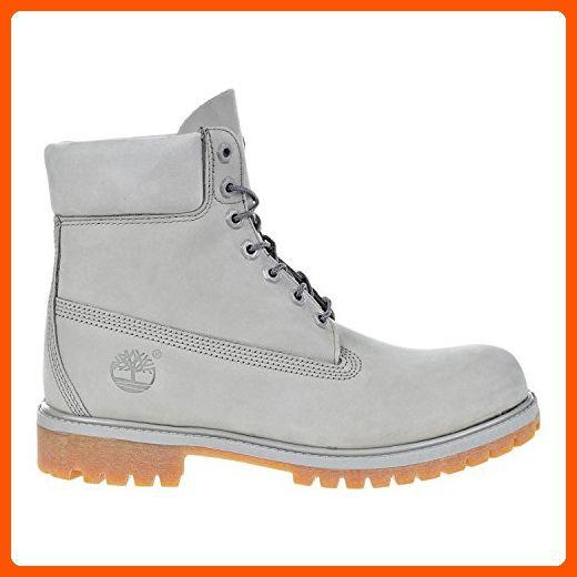 Timberland 6 Inch Premium Waterproof Mens Boots Light Grey tb0a1gau (11 D(M) US) - Mens world (*Amazon Partner-Link)