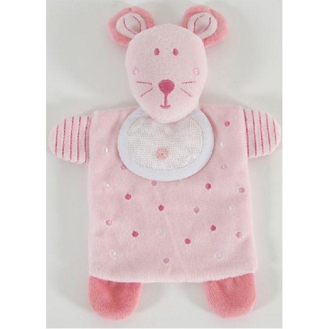 Peluche ratón rosa GN144 - Bebé - DMC
