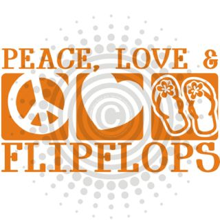 .Peace Love & Flipflops