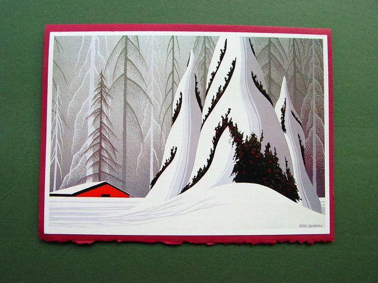 38 Best Eyvind Earle Christmas Cards Images By Eyvind