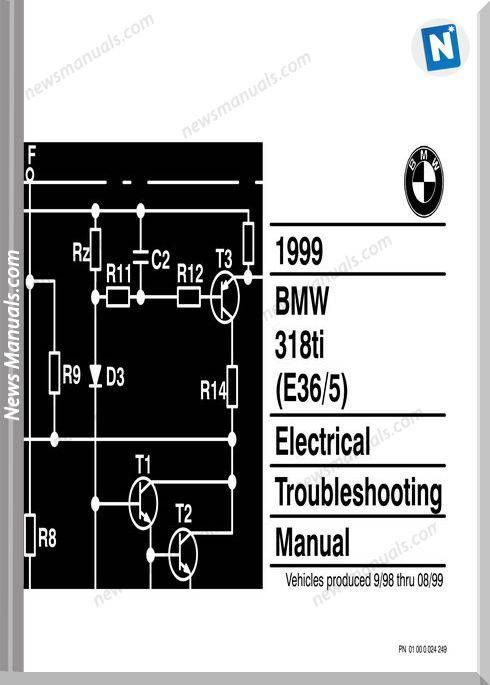 Bmw 318ti 1999 Electrical Troubleshooting Manual Trong 2019