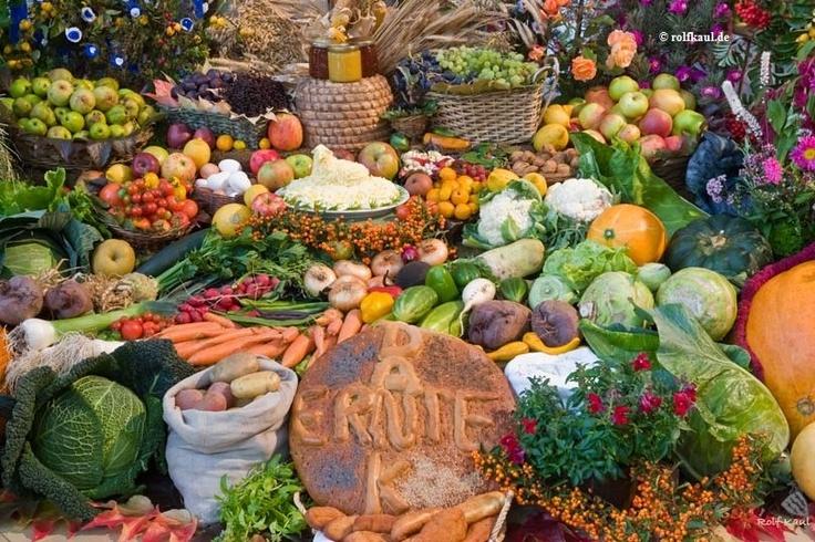 Erntedankfest - The German Thanksgiving.. mmmhmm leckeres Essen!