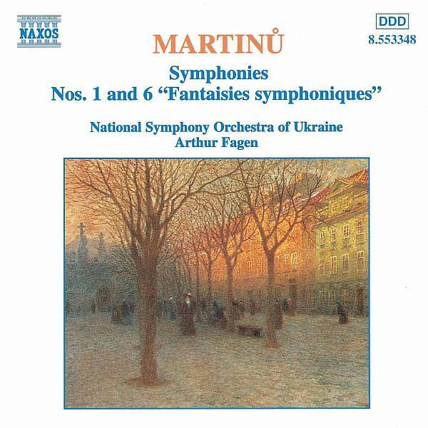 Symphonies Nos. 1 and 6-Ukraine National Symphony Orchestra-Naxos