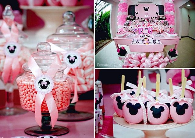 63 Best Sug Minnie Mouse Baby Shower Images On Pinterest Birthdays