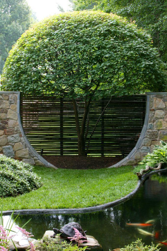 Garden Ideas Small Landscape Gardens Pictures Gallery: Best 25+ Bamboo Garden Fences Ideas On Pinterest