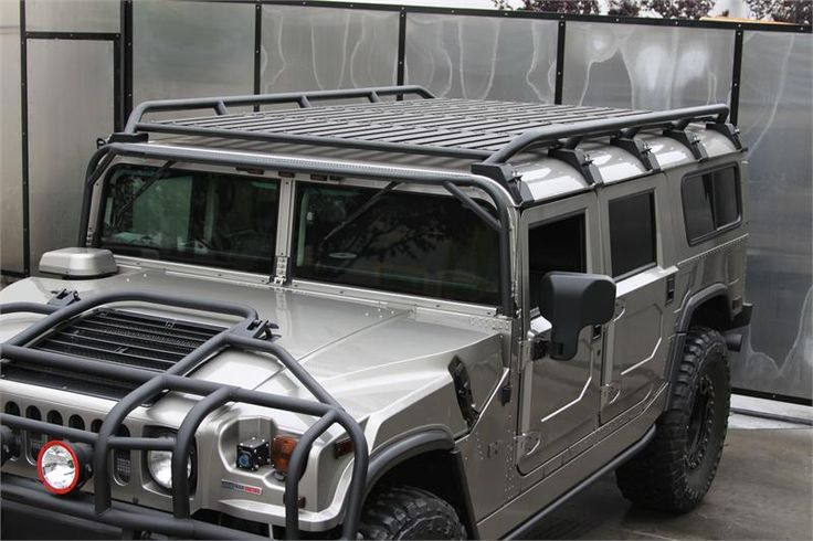 Low Profile Roof Rack - Predator Inc. Hummer Parts & Accessories