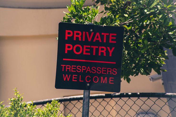 Private Poetry, Trespassers Welcome - Brisbane Powerhouse - New Farm, Brisbane, Australia - Zac Harney Photography