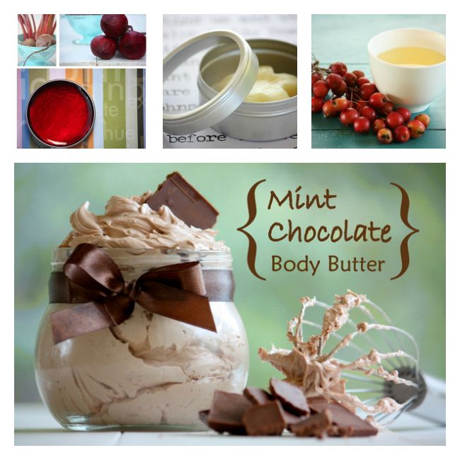Make Your Own Christmas Presents and Save 25% on My Favorite eBook...Mint chocolate Body Butter