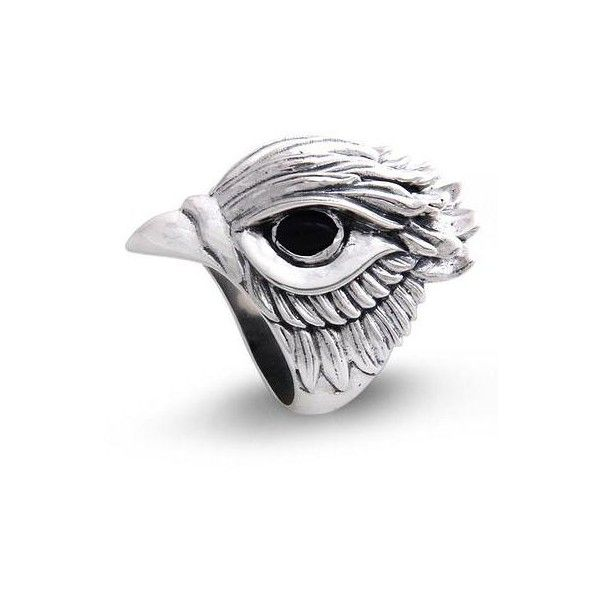 NOVICA Men's Onyx and Sterling Silver Bird Ring ($102) ❤ liked on Polyvore featuring men's fashion, men's jewelry, men's rings, clothing & accessories, jewelry, onyx, mens sterling silver rings, mens onyx ring, mens watches jewelry and mens sterling silver black onyx rings