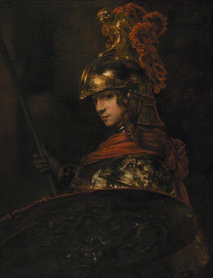 Alejandro Magno - Rembrandt (1655)
