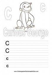 Curious George Alphabet Printables