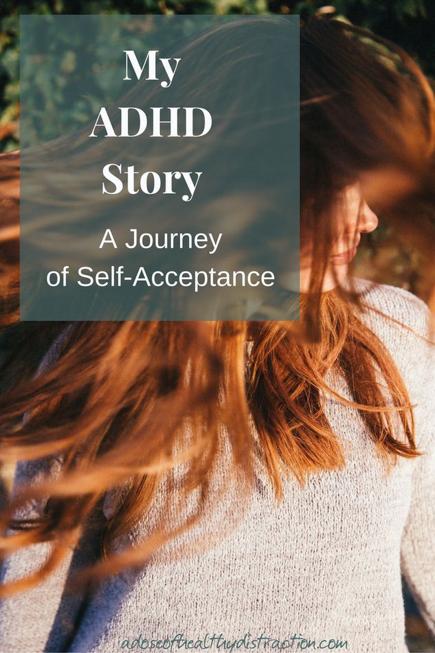 My ADHD Story - A story about growing up with the diagnosis, navigating my early adult years, and eventually self-acceptance. It's been a long process, but now I am living, laughing and parenting with ADHD.