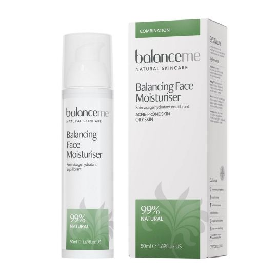 £24 Balancing Face Moisturiser - one of my go-to's for face moiusturiser for combination skin without all the chemicals.