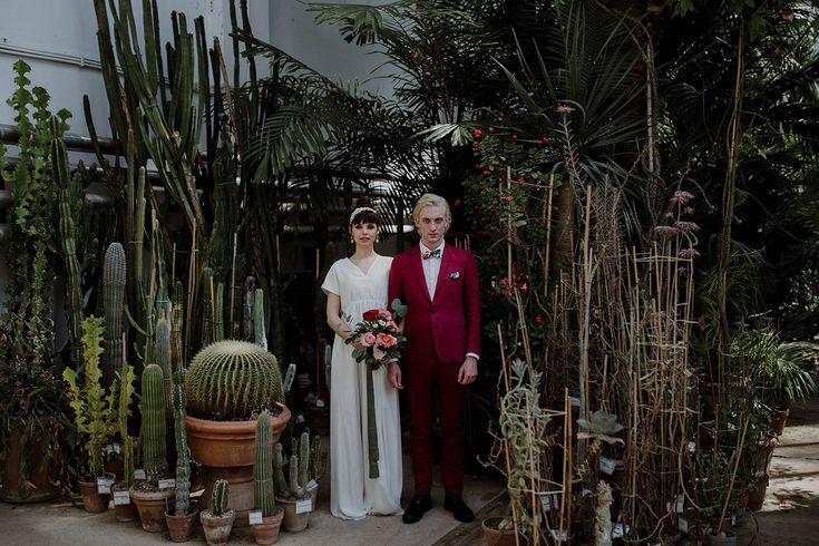 Greenhouse Wedding Inspiration in Florence, Italy