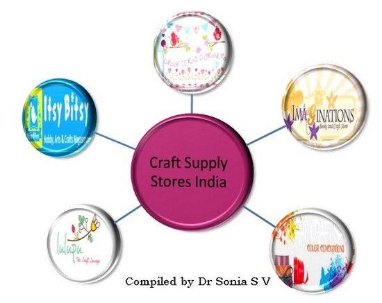 craft supply stores India