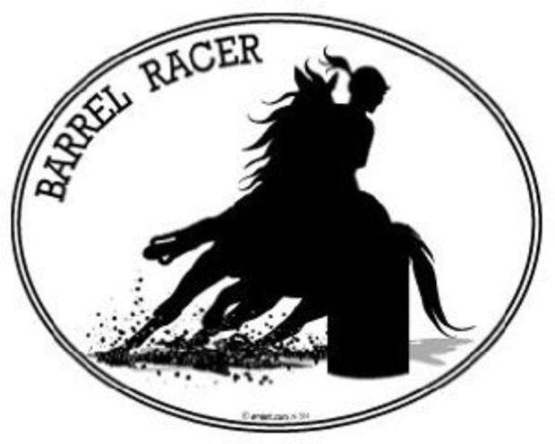 Best Images About For The Car On Pinterest Vinyl Decals - Barrel racing custom vinyl decals for trucks