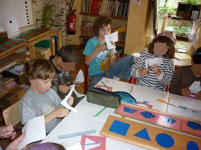 Montessori avec les 6-12 ans: Symétrie