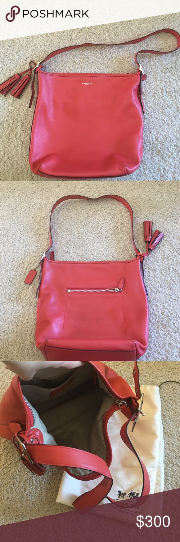 Coach bag from the legacy collection Offers welcomed!!!Used maybe 10 times if not less. Very little use on the bottom corners. Comes with dust bag Coach Bags