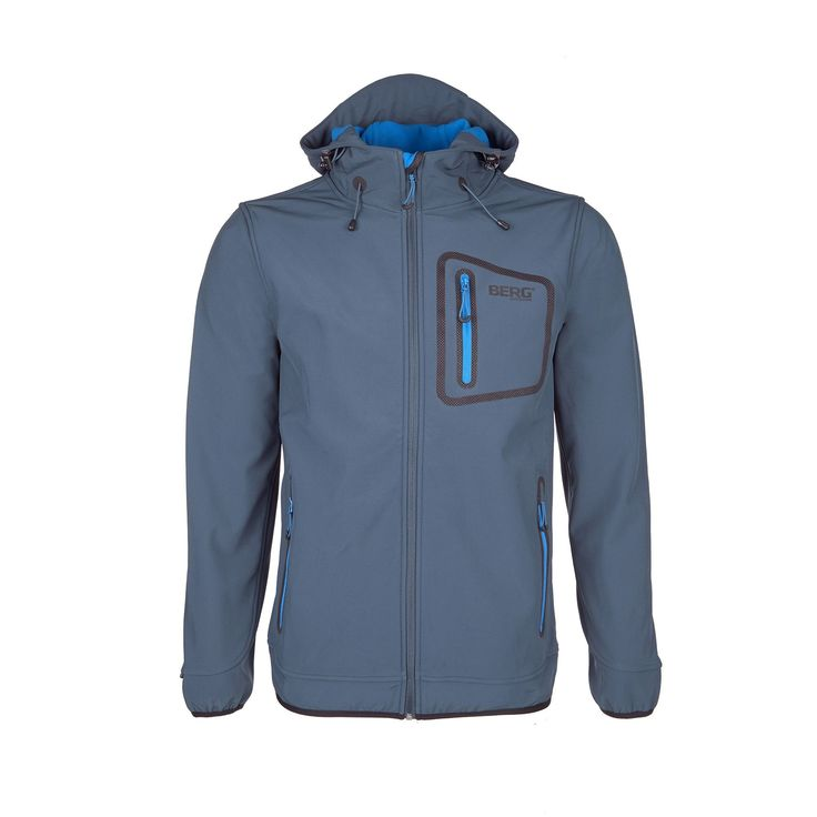 Face the morning breeze with this versatile softshell featuring a barrier against cold and wind.