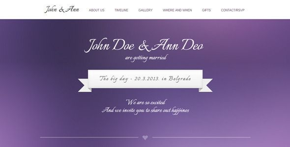 Review WeeDay One Page with Timeline Wedding Templatein each seller & make purchase online for cheap. Choose the best price and best promotion as you thing Secure Checkout you can trust Buy best
