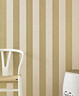High Quality Graham U0026 Brown Ariadne Gold Stripe Wallpaper