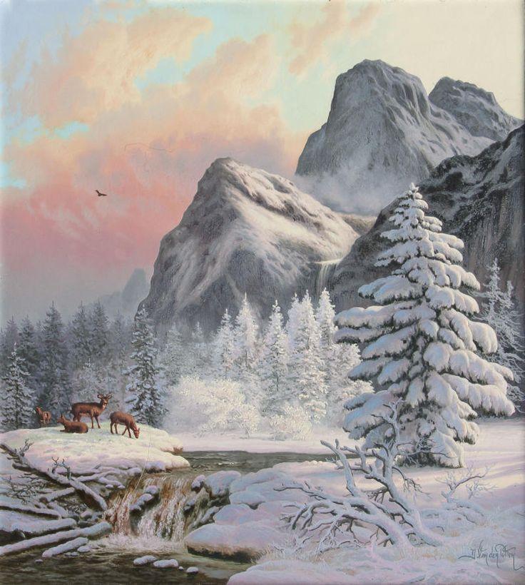 """""""Cold Day - Yosemite"""" by Daniel Van der Putten"""