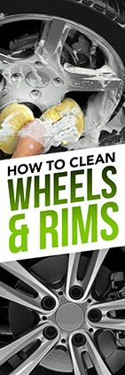Need help cleaning aluminum wheels? Check out this tip from Simple Green.