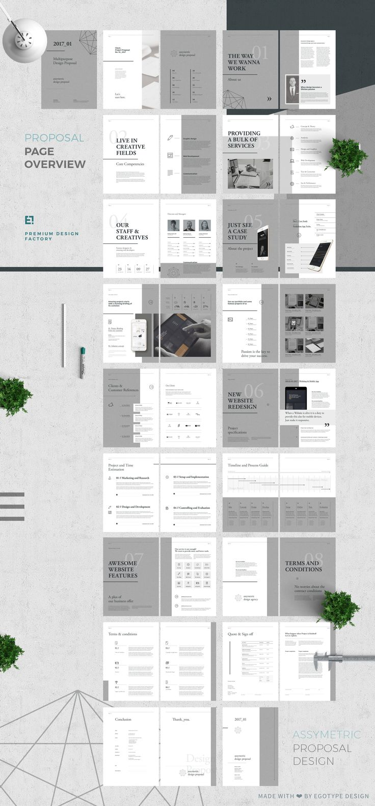 17 Best images about Contractproposal layouts – Proposal Layouts