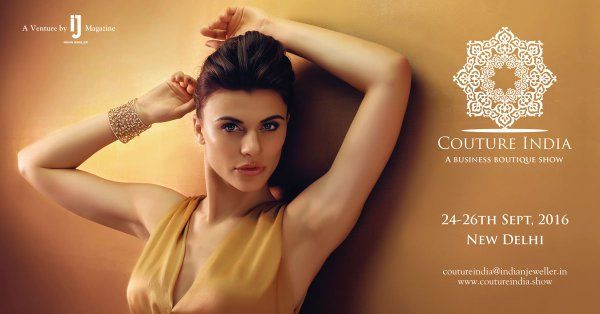 Exclusive Jewellery Show, COUTURE India, 24-26th Sept, TAJ Palace, New Delhi.