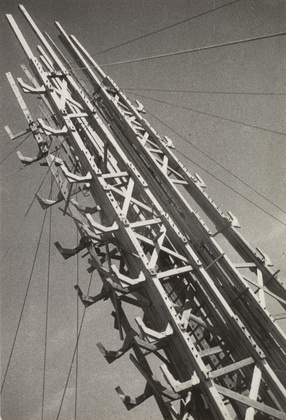"Park of Culture and Rest  Aleksandr Rodchenko (Russian, 1891-1956)    1929-32. Gelatin silver print, 8 15/16 x 6 1/8"" (22.8 x 15.5 cm). Gift of the Rodchenko family  334.1997"
