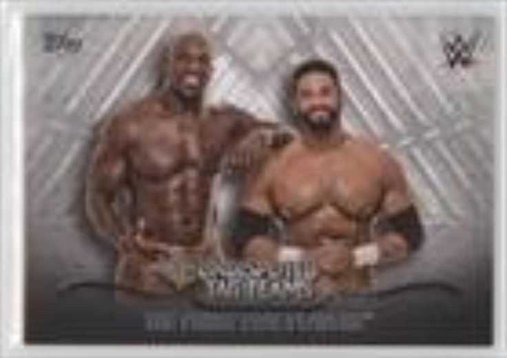 Brought to you by Avarsha.com: <div><div>2016 Topps WWE Undisputed Tag Teams #UTT-28 - The Prime Time Players</div><ul><li>Sport: Wrestling</li><li>Great for any The Prime Time Players fan</li><li>This is a collectible trading card.</li></ul><div>Sport: Wrestling</div></div>