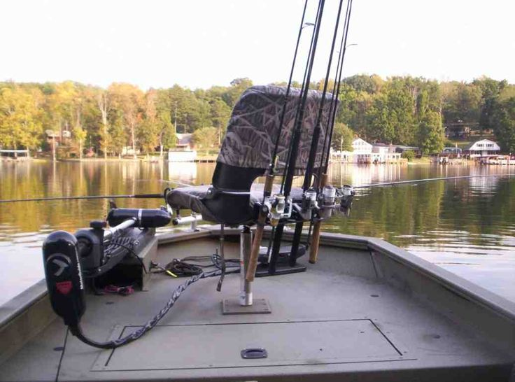 1000 ideas about fishing pontoon boats on pinterest for Fishing rod holders for pontoon boats