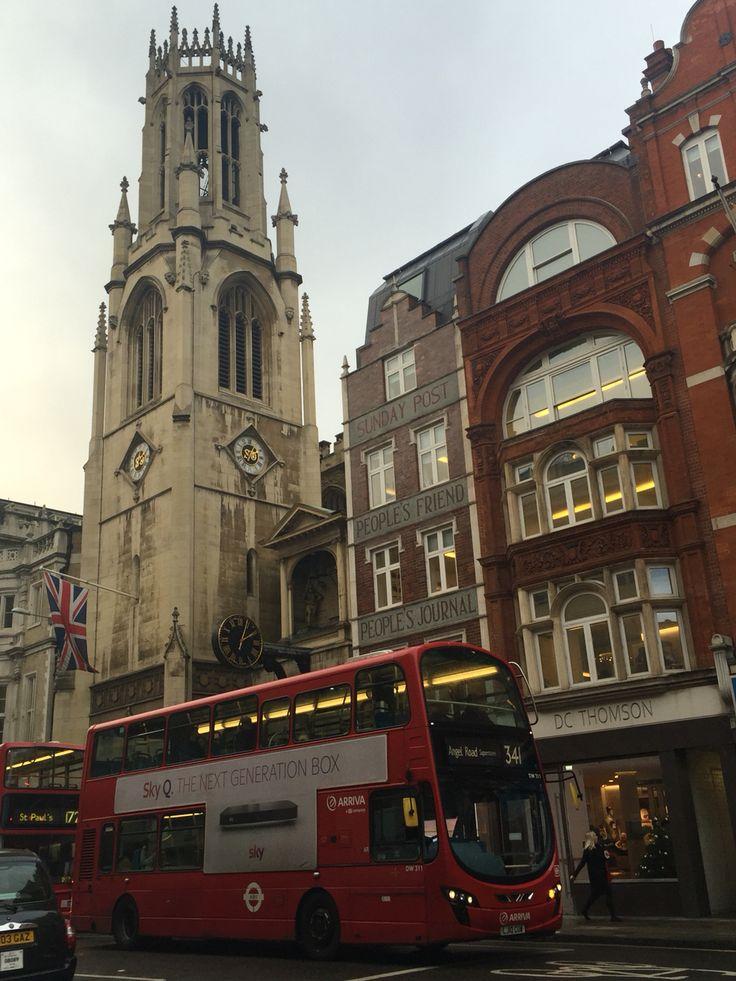 Londra, London: Fleet street - dicembre 2016
