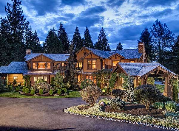 Plan 23299jd Luxury Craftsman Home Plan In 2020