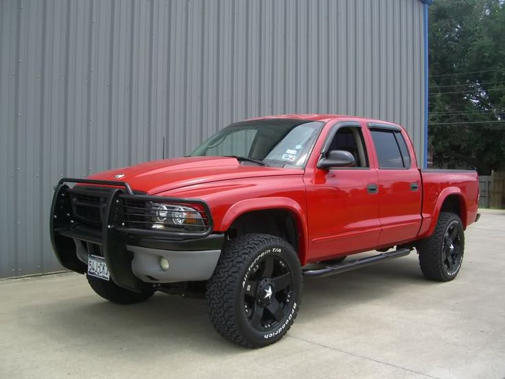 lifted dodge dakota truck | ... black wheels? - Page 3 - Dodge Durango Forum and Dodge Dakota Forums