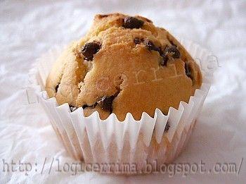 Muffin alla Ricotta e Cioccolato