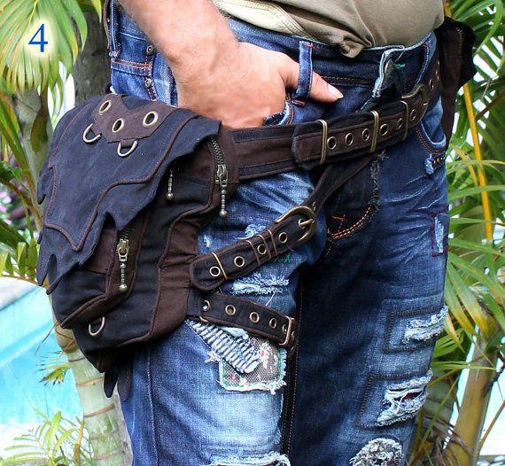 Asistente para cinturón con bolsillo de por CyberGypsyFashion
