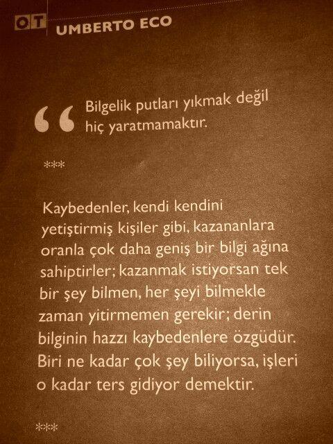 * Umberto Eco - OT dergi