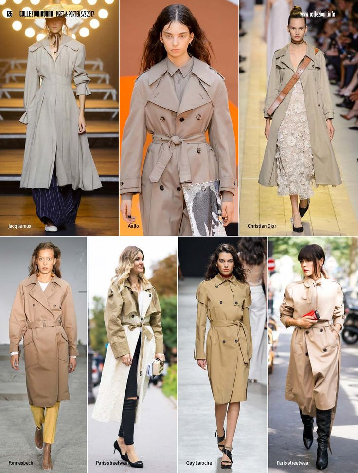 CollezioniDonna n.173 spring summer 2017 fashiontrends trench, impermeabili